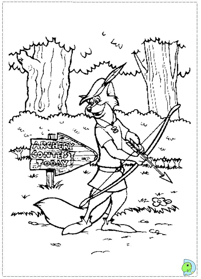 Robin Coloring Coloring Pages