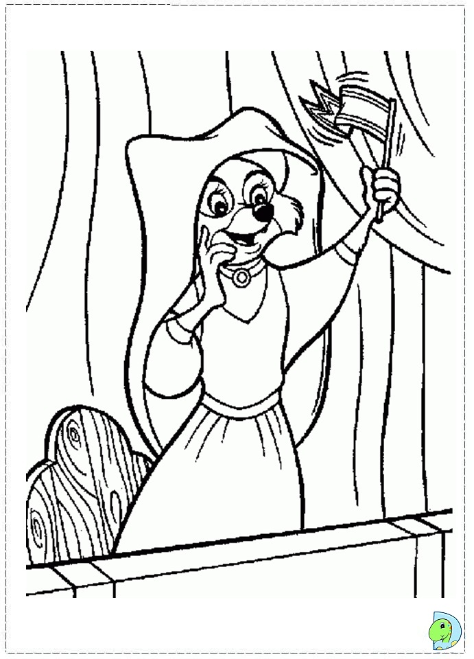 robin hood coloring page dinokidsorg - Robin Hood Coloring Pages
