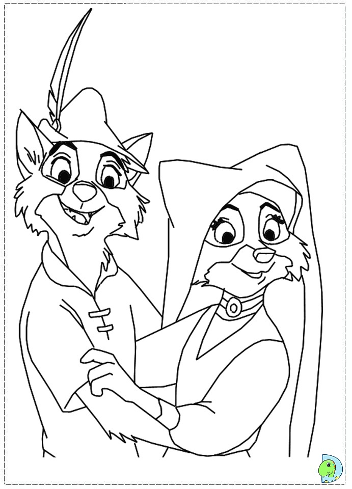 Robin Hood Hat Coloring Sheet Coloring Pages