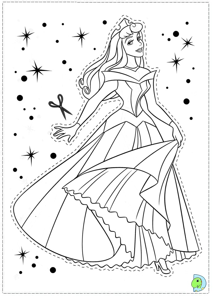 sleeping beauty coloring pages disney - photo#26