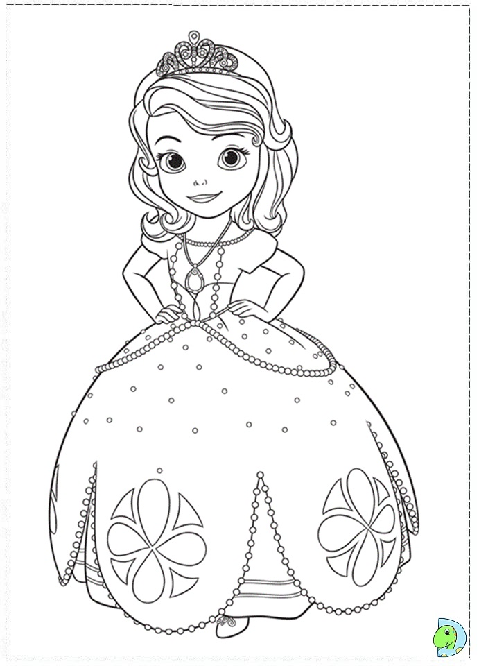 sofia the first coloring pages - sofia the first coloring coloring pages