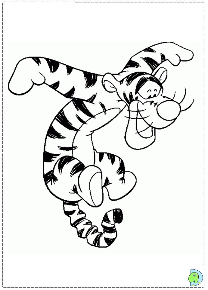 tigger coloring pages to print - photo#29