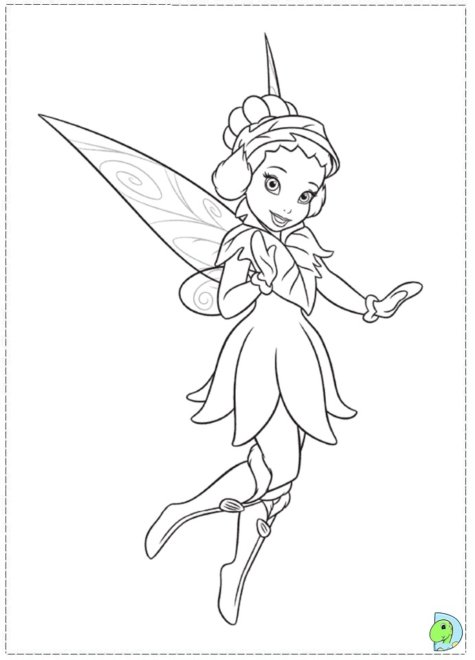 Free coloring pages of the secret