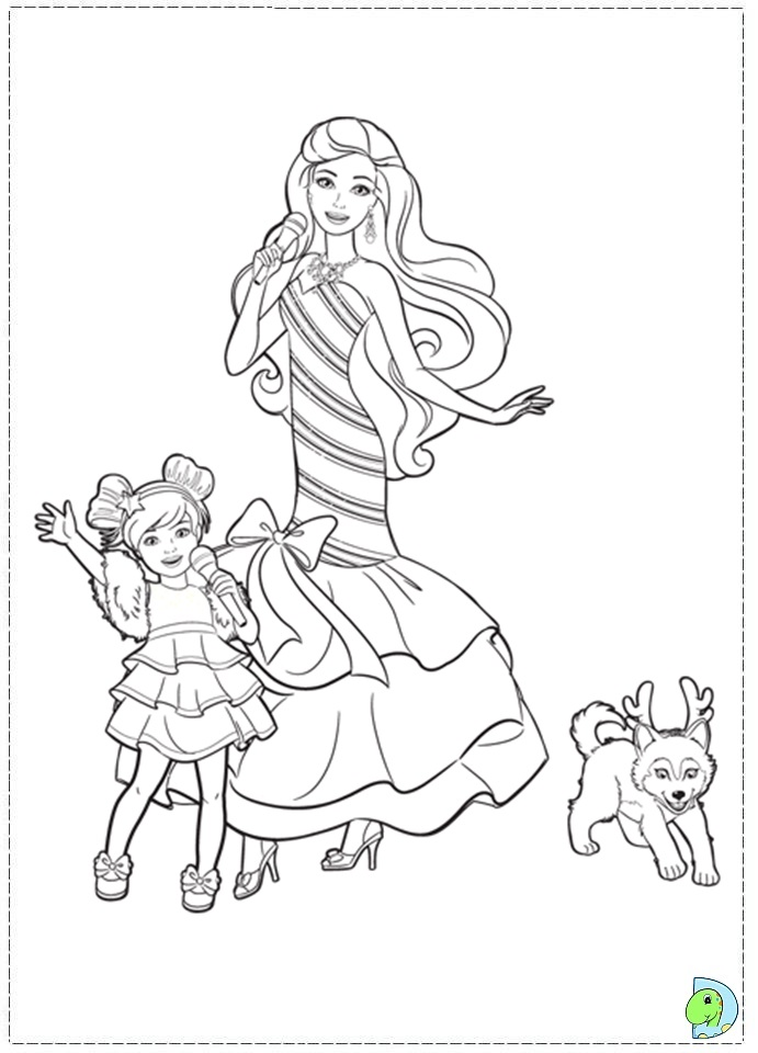 "Search Results for ""Barbie Christmas Coloring Pages ..."