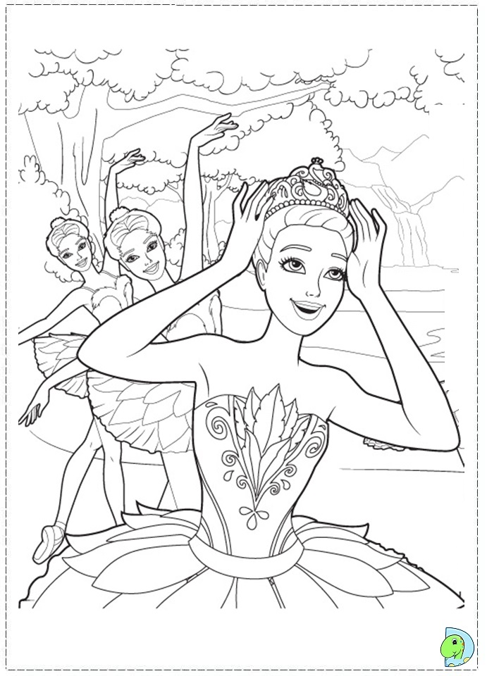 barbie high heels coloring pages - photo#16