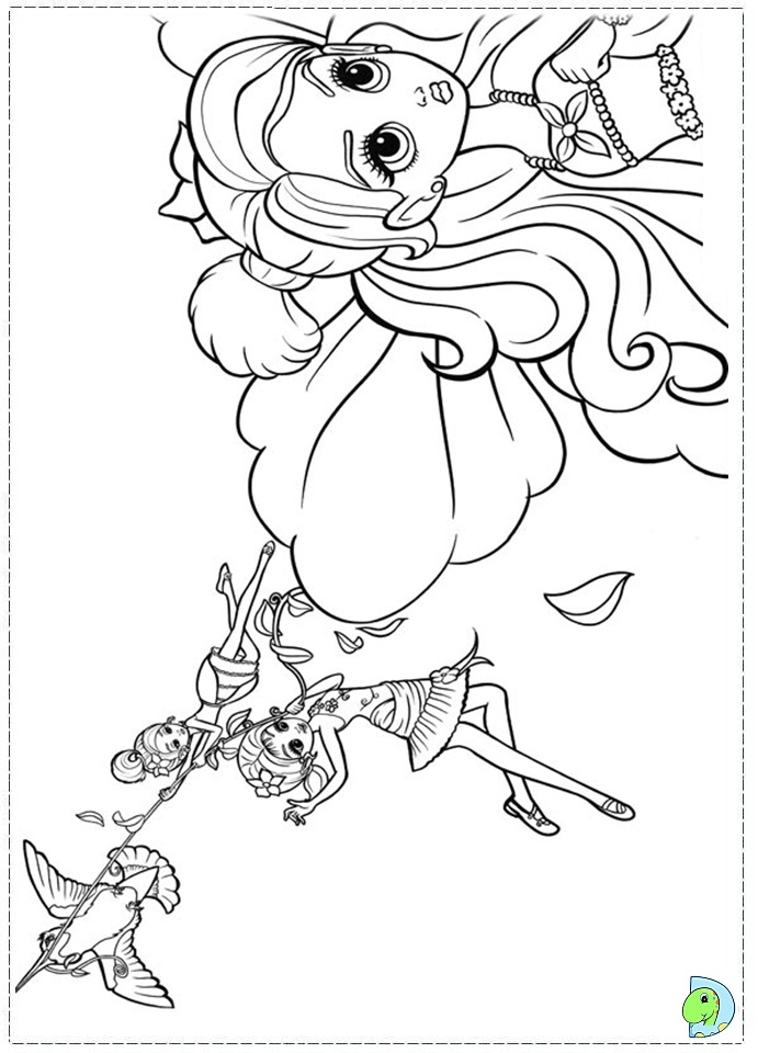 thumbelina 1994 coloring pages - photo#25