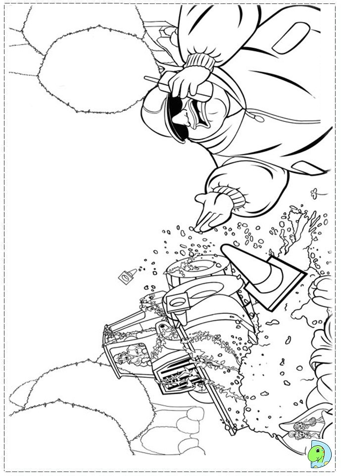 thumbelina 1994 coloring pages - photo#14