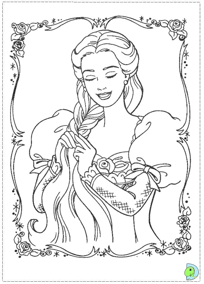 princess pauper coloring pages - photo#20