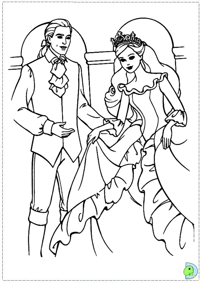 Barbie As The Princess And The Pauper Coloring Pages And The Princess And The Pauper Free Coloring Sheets