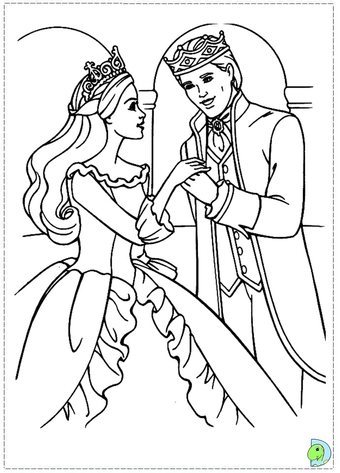 princess pauper coloring pages - photo#10