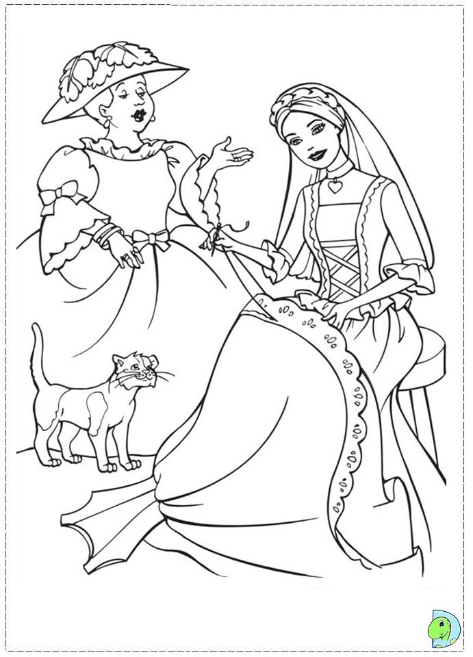 Princess Pauper Coloring Pages