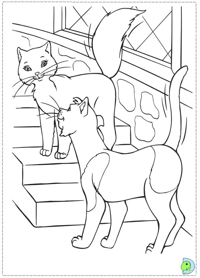 princess pauper coloring pages - photo#21