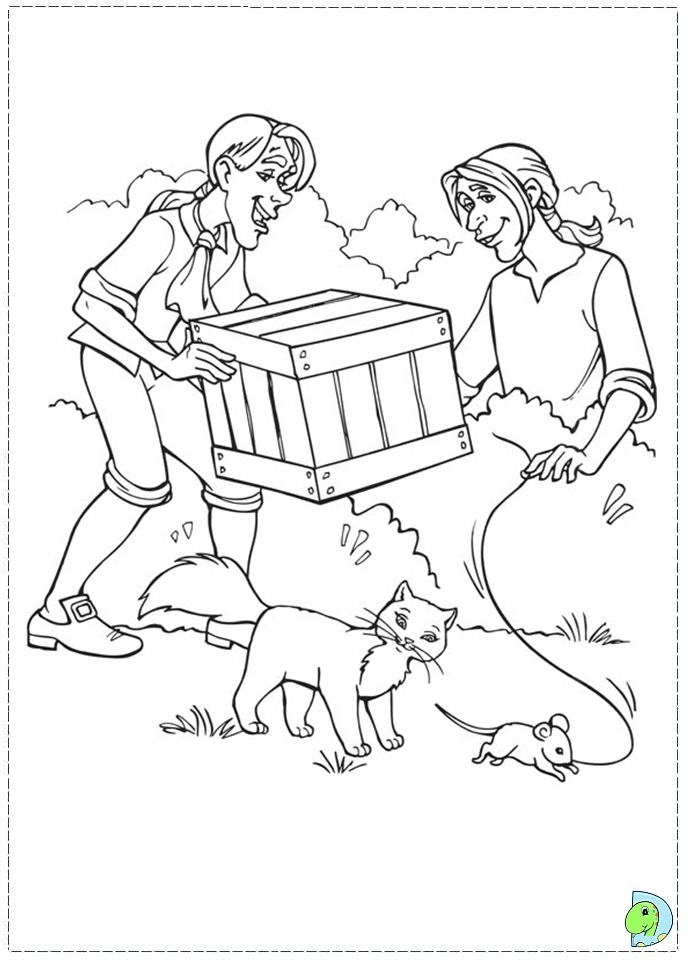 princess pauper coloring pages - photo#16