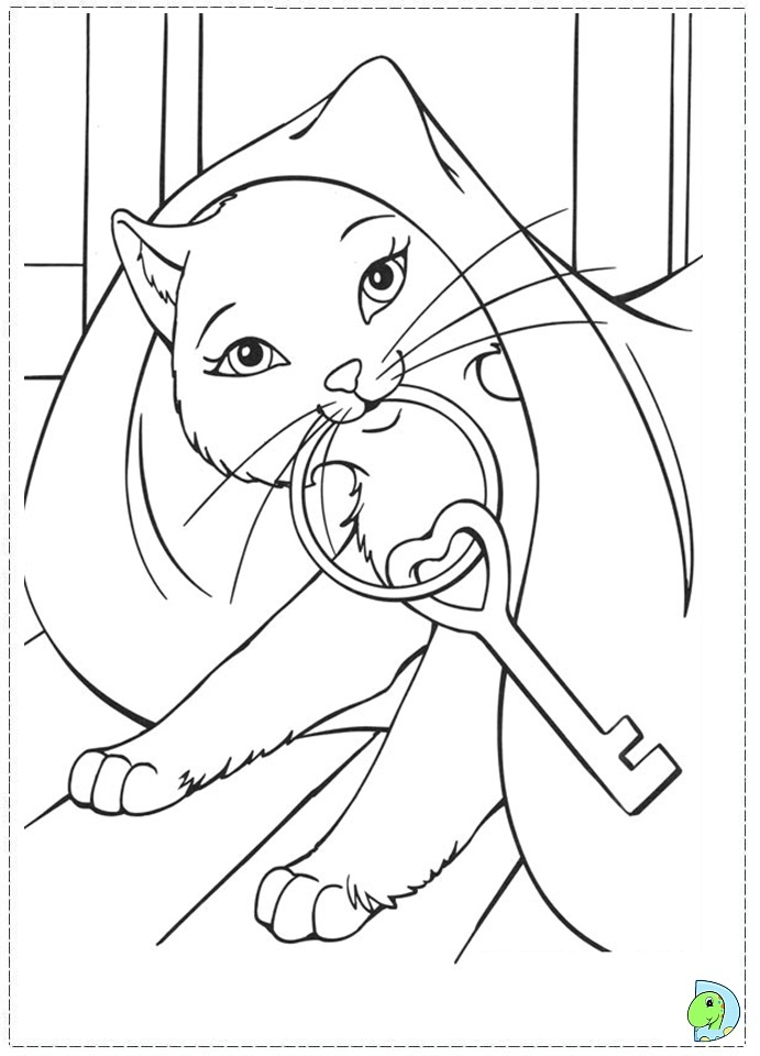 princess pauper coloring pages - photo#18