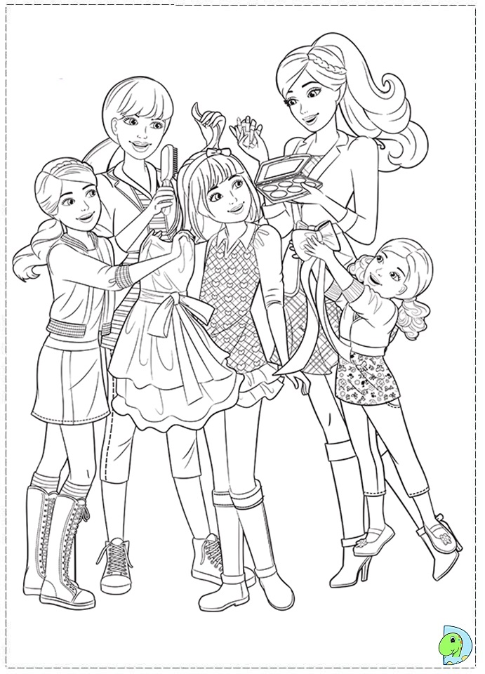 coloring pages of sisters - photo#5