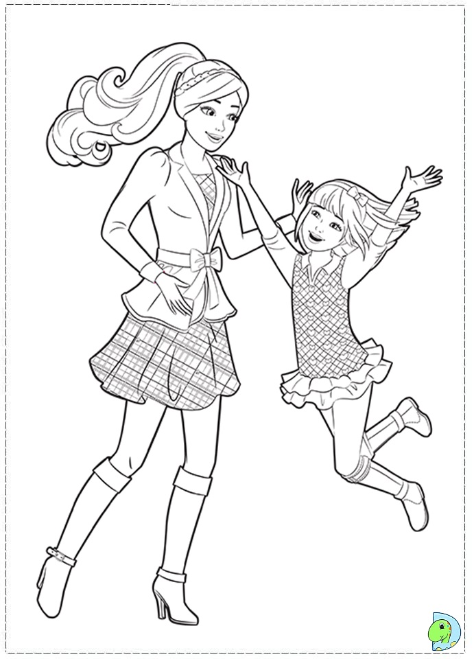 coloring pages of sisters - photo#2