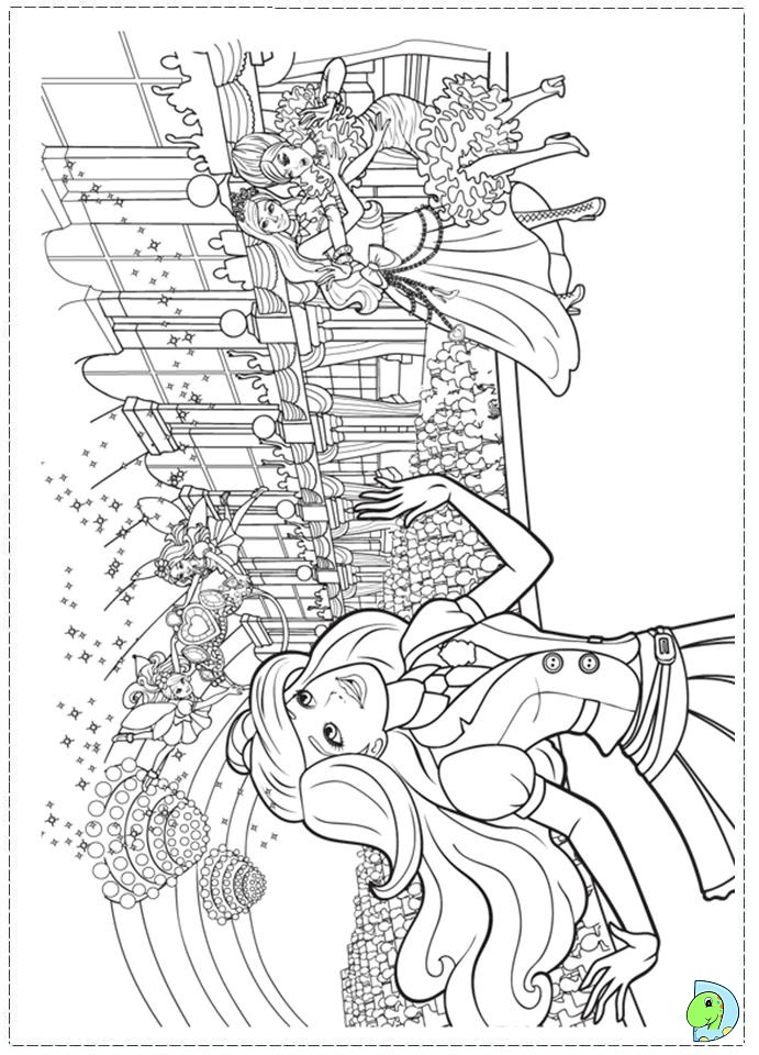 island princess barbie coloring pages - photo#35