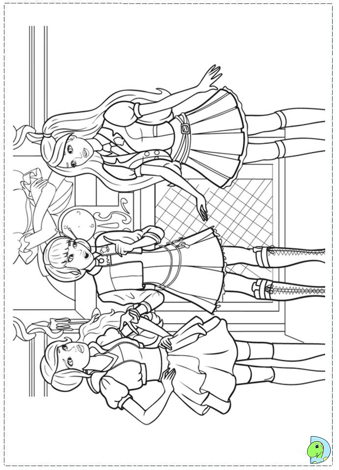 Free Coloring Pages Of Barbie Princess Charm School Princess Charm School Coloring Pages Free Coloring Sheets