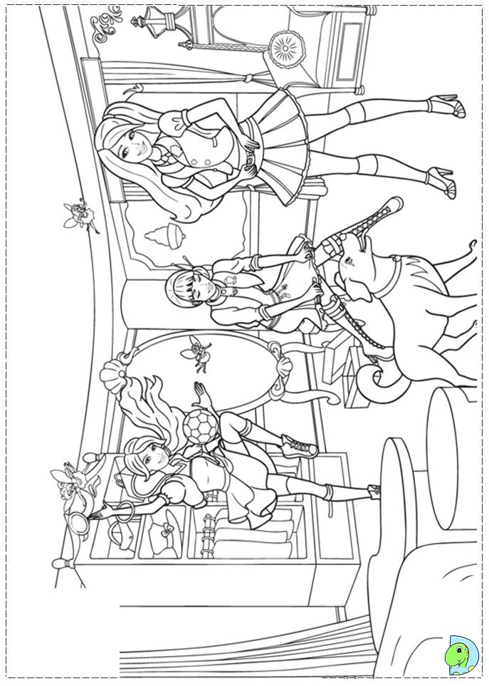 island princess barbie coloring pages - photo#10