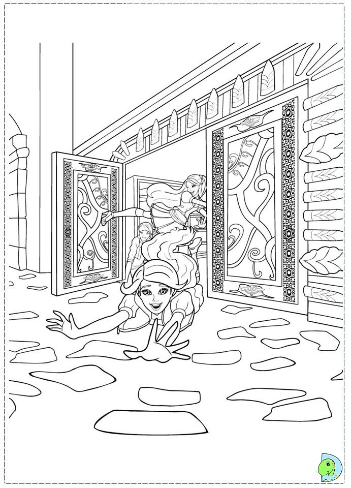Princess Charm School Coloring Pages Www.dinokids.org