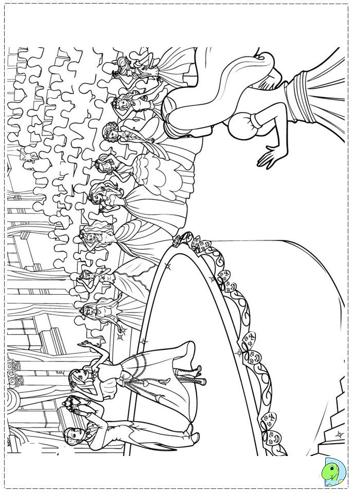 Barbie Princess Charm School Coloring Page Dinokids Org Princess Charm School Coloring Pages Free Coloring Sheets