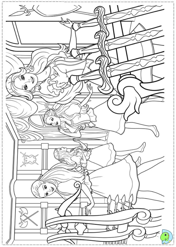 Barbie And The Three Musketeers Coloring Page DinoKidsorg