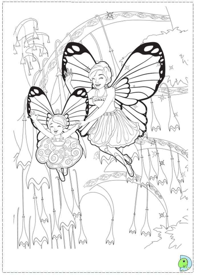 Free real life fairy coloring pages - Princesse a colorier ...