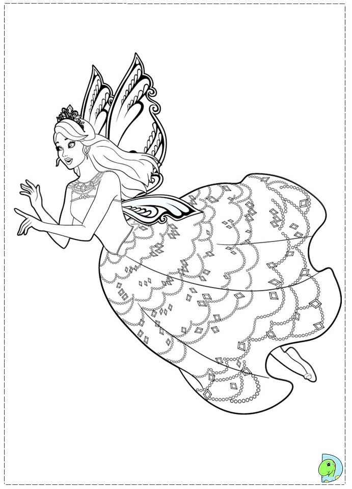 farytale princesss coloring pages - photo#5