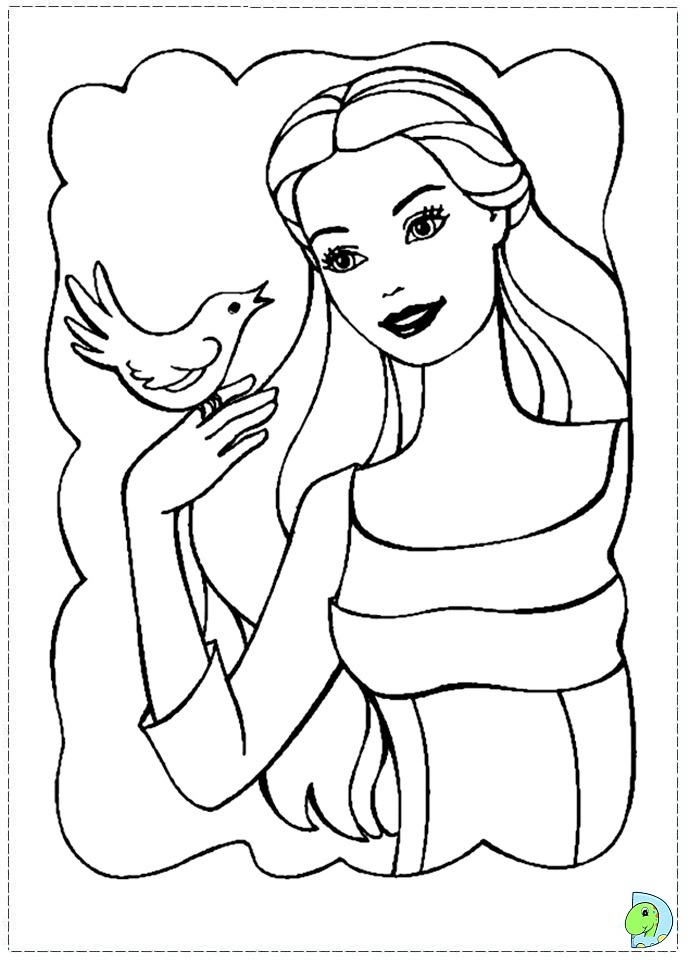 Barbie Of Swan Lake Coloring Page DinoKidsorg