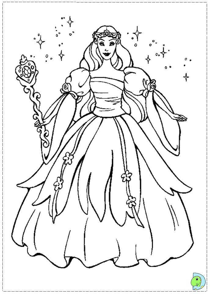 disney swan princess coloring pages - photo#34