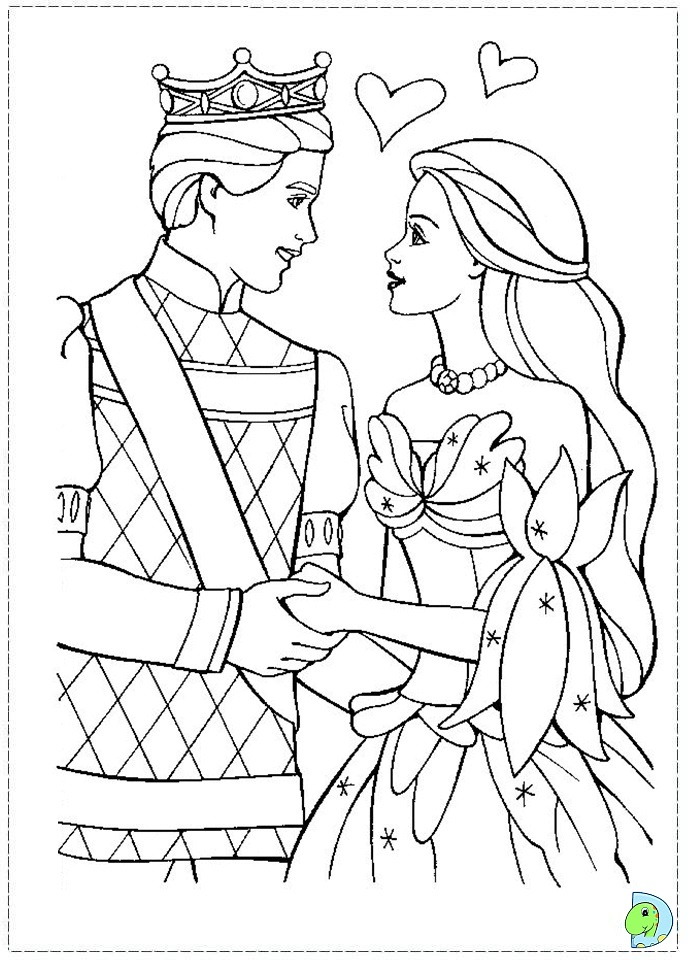 disney swan princess coloring pages - photo#31