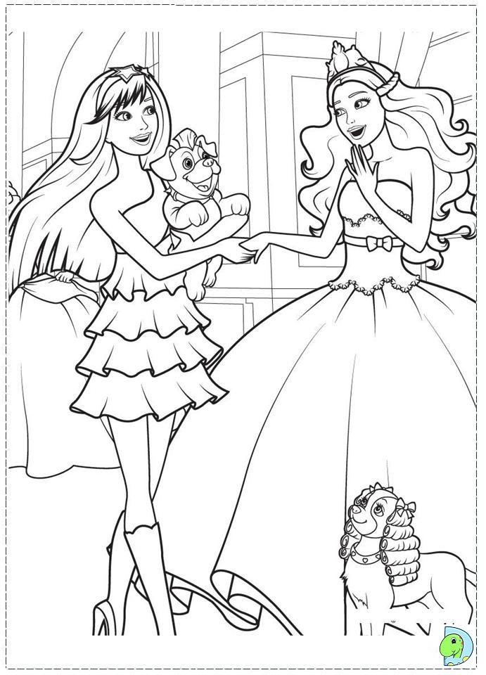 Barbie- The princess a...