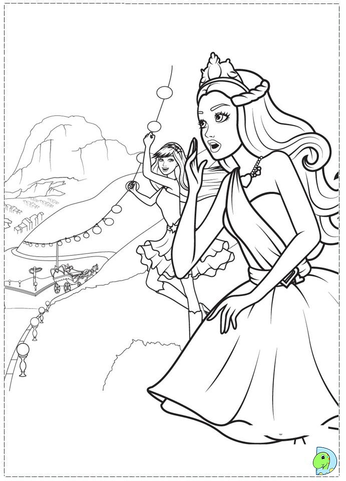 Barbie Keira Coloring Pages : Barbie princess popstar coloring pages imgkid