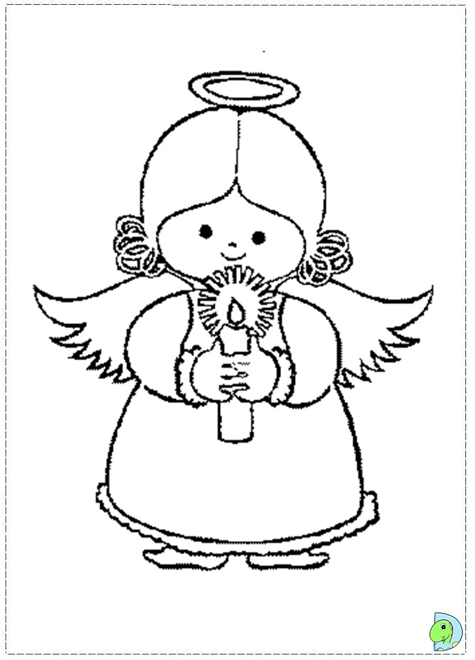 angels worksheets and coloring pages - photo#30