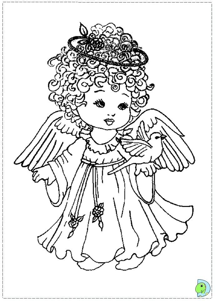 Guardian angel coloring sheet color coloring pages for Guardian angel prayer coloring page