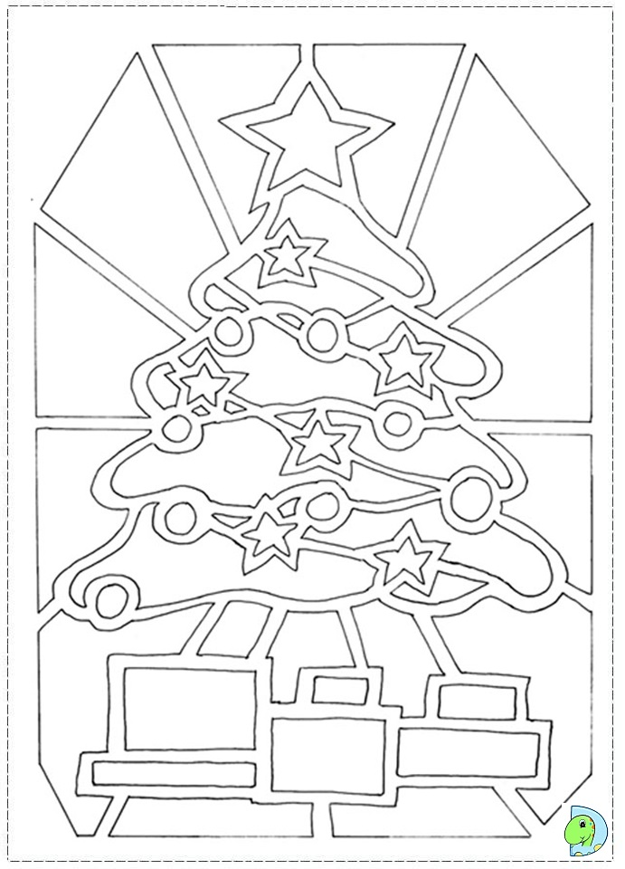 evergreen tree coloring pages - photo#42