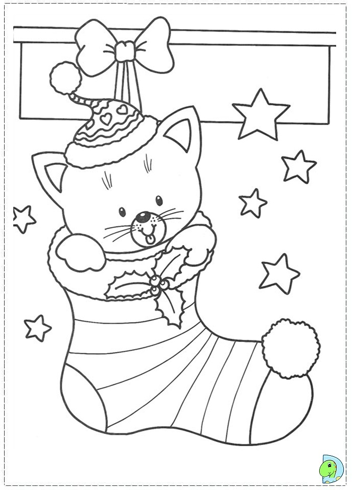 merry christmas stockings coloring pages coloring pages
