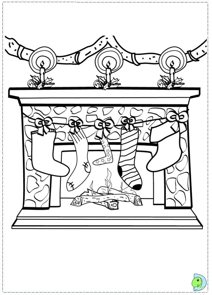 Christmas_stocking ColoringPage 51