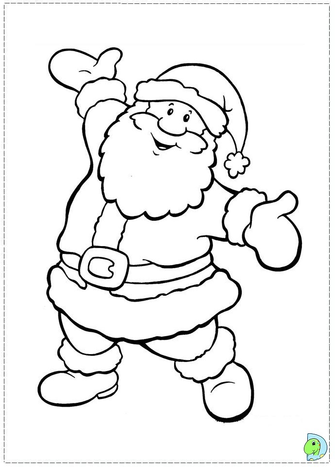 the santa clause coloring pages - photo#6