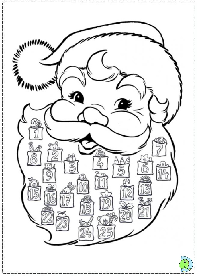 Santa Claus Coloring Pictures Santa Claus Coloring Page