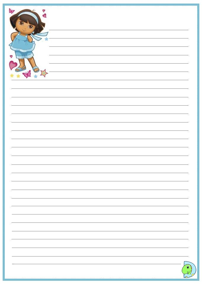 Writing Paper to Learn and Practice Handwriting for