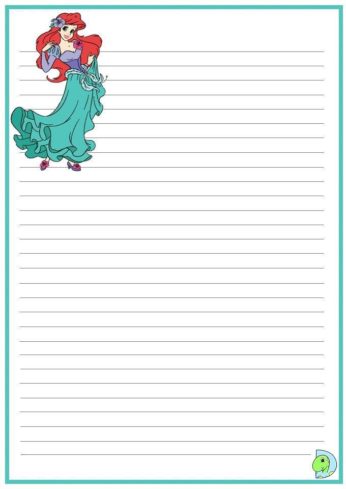 write and draw paper printable