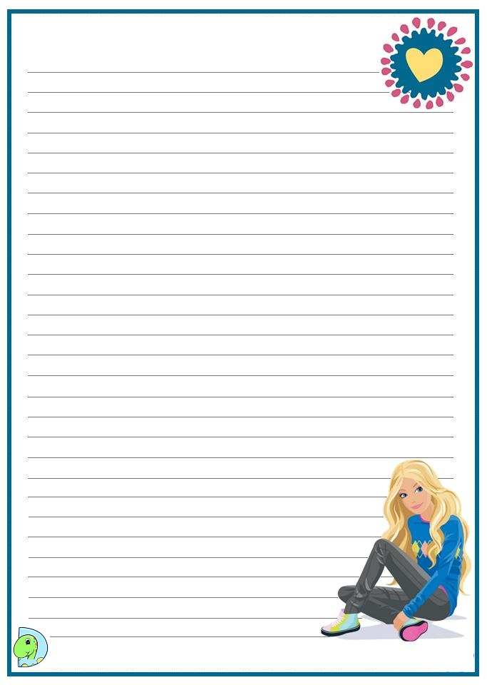 Primary Handwriting Paper  All Kids Network