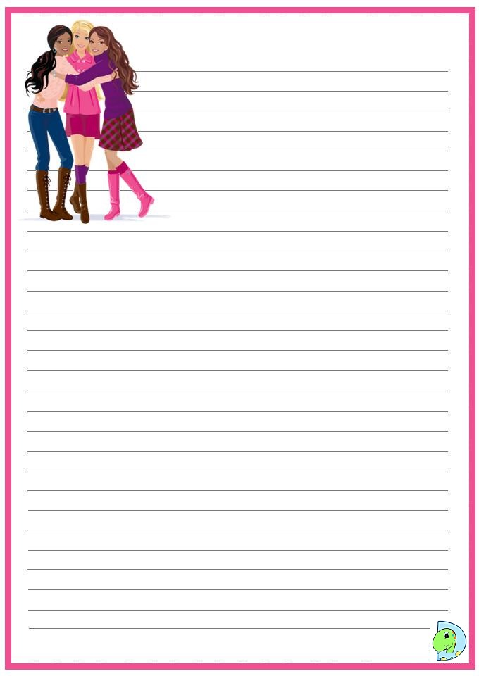 Free Printable Stationery  Writing Paper