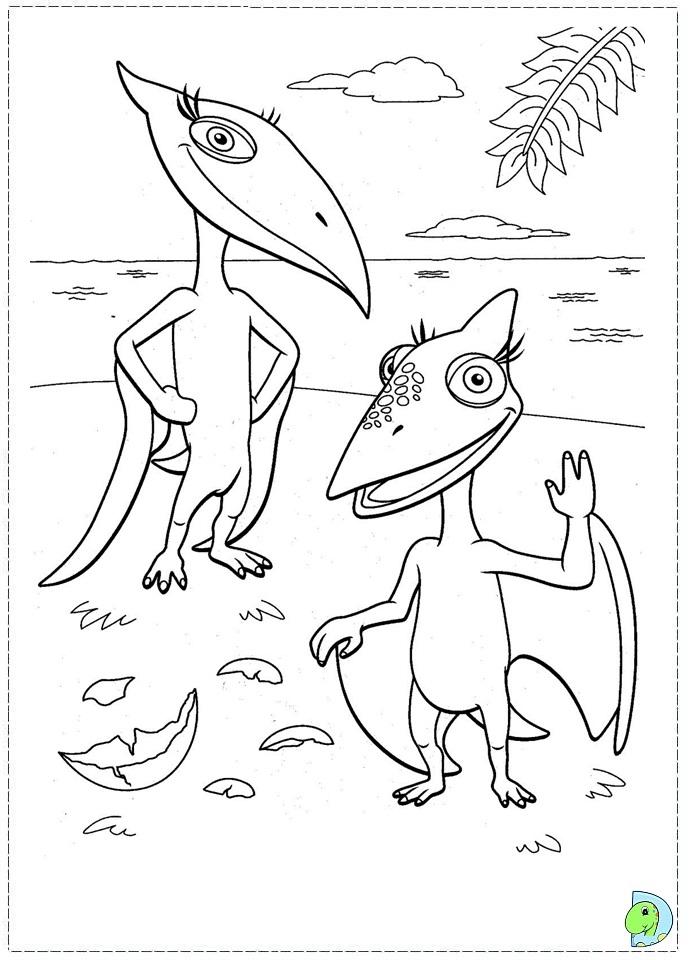 Dino train Coloring page- DinoKids.org