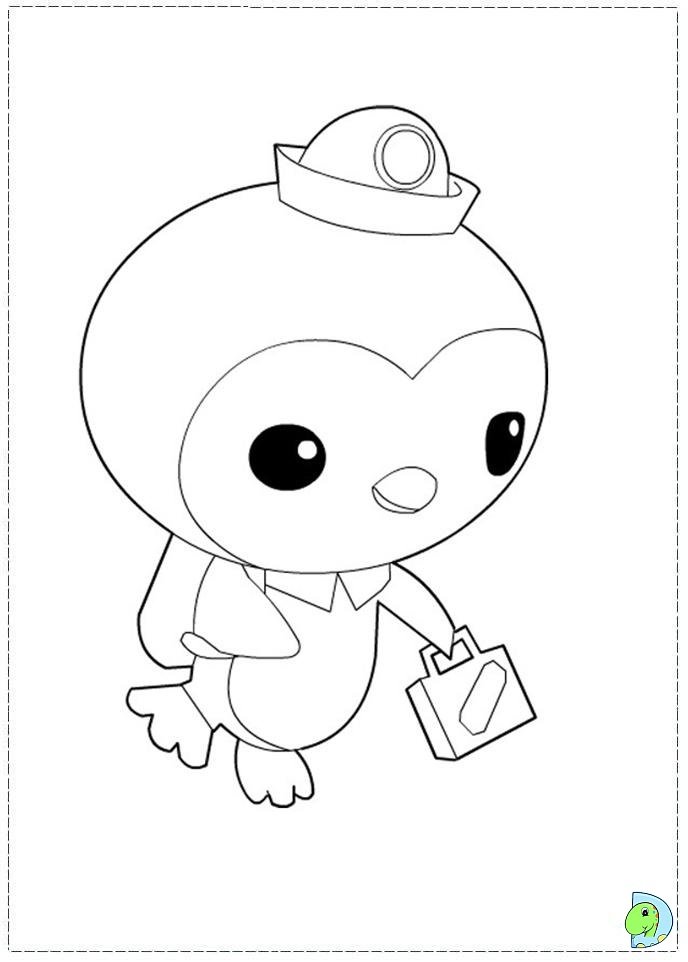 Octonauts peso coloring pages coloring page for Disney junior octonauts coloring pages