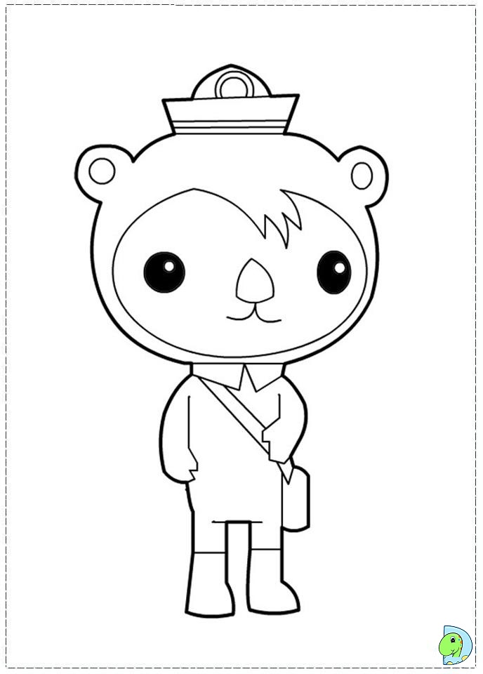 octonauts coloring pages to print | Murderthestout