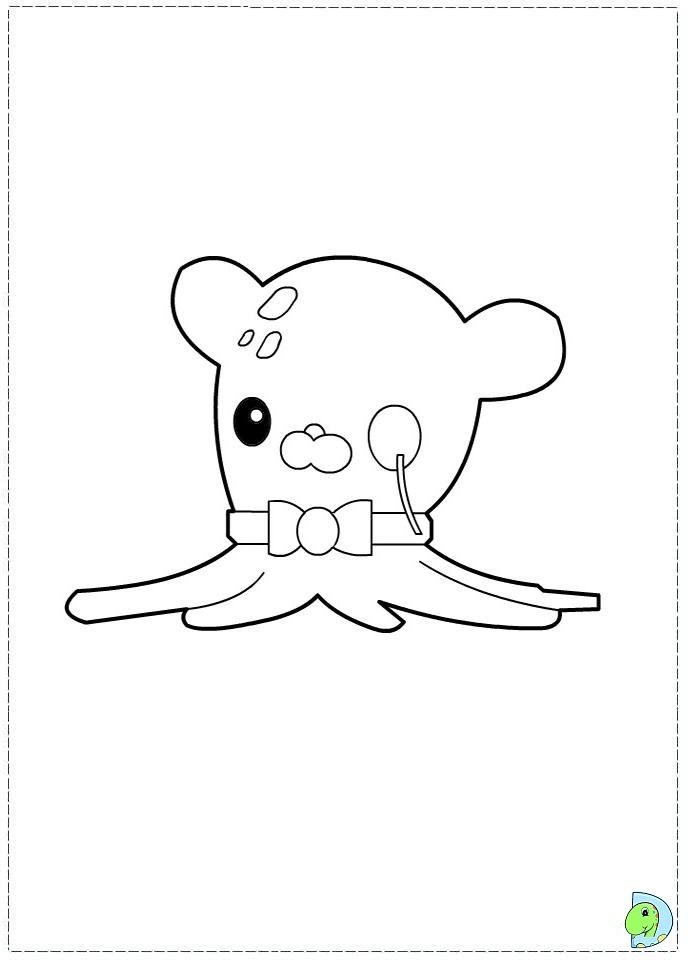 Octonauts colouring pages gup c coloring page for Disney junior octonauts coloring pages
