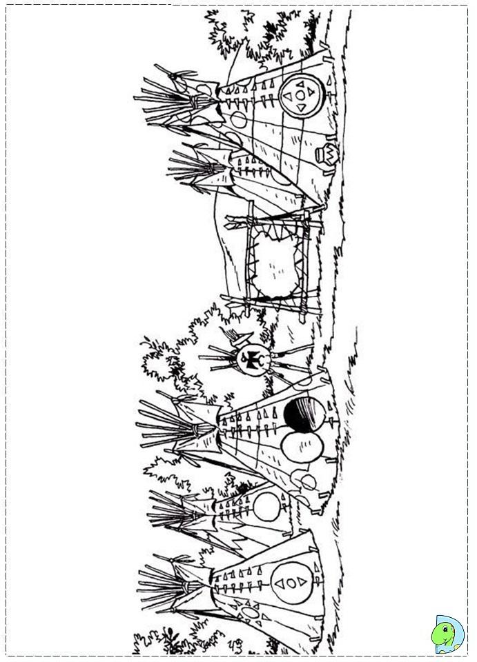 yakari coloring page dinokids