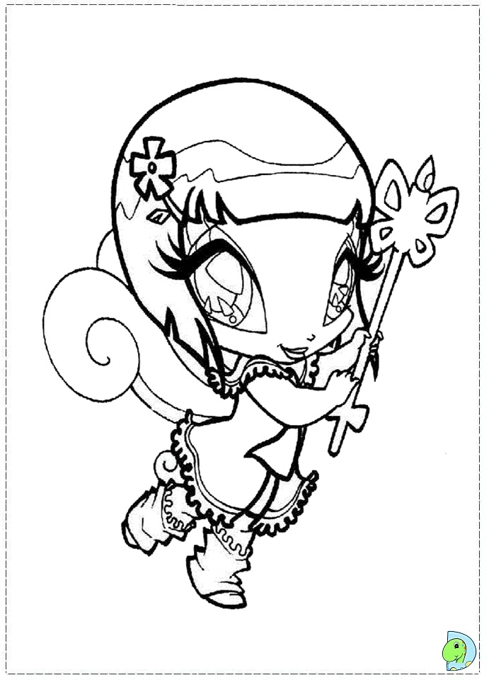 Pop Pixie Piff Coloring Pages Coloring Pages